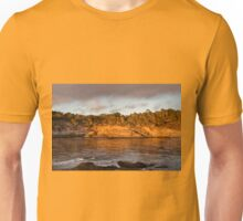 Headland Cove at Sunset, Point Lobos Unisex T-Shirt