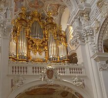 Organ, St. Stephan's Cathedral, Passau, Germany by Priscilla Turner