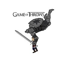 game of throws Photographic Print