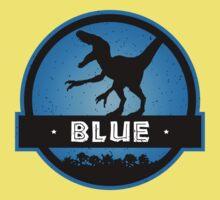Velociraptor Squad: Blue Team One Piece - Short Sleeve