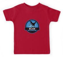 Velociraptor Squad: Blue Team Kids Tee