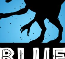 Velociraptor Squad: Blue Team Sticker