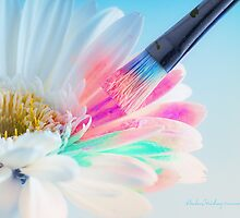 Painting Petals by Andreas Stridsberg