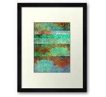 Abstract Composition – July 1, 2010 Framed Print