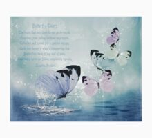 """""""Butterfly Tears"""" Digital Art & Poetry Kids Clothes"""