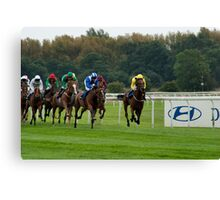 Doncaster Races Canvas Print