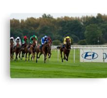 Doncaster Races Canvas Print