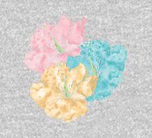 Hibiscus Flowers Pullover