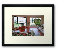 My Loungeroom Framed Print