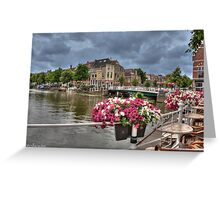 .. to shoot Dutch City's Leiden here Greeting Card