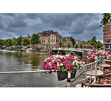 .. to shoot Dutch City's Leiden here Photographic Print