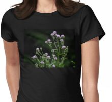 Black Knapweed Womens Fitted T-Shirt