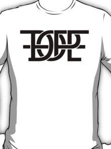 DOPE IN BLACK PRINT T-Shirt