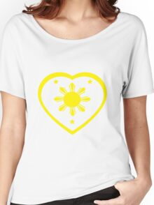 Love For The Philippines #1 Women's Relaxed Fit T-Shirt