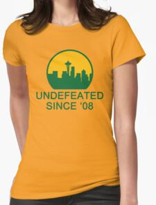 Undefeated Womens Fitted T-Shirt