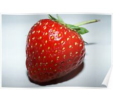 Juicy Strawberry Poster