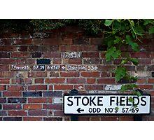 Stoke Fields Photographic Print