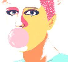 Gum Girl Sticker