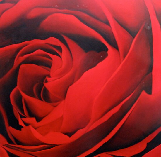 Blood Red 2 by Sally McColl