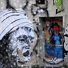 Paris Street Art 2 by Jean-Luc Rollier