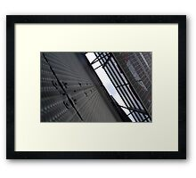 Adelaide Bus Station- Expanded Reality Framed Print