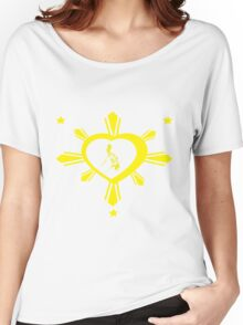 Love For The Philippines #2 Women's Relaxed Fit T-Shirt