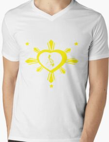 Love For The Philippines #2 Mens V-Neck T-Shirt