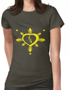 Love For The Philippines #2 Womens Fitted T-Shirt