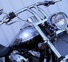Silver Centenary Harley by UrSpecialAngel
