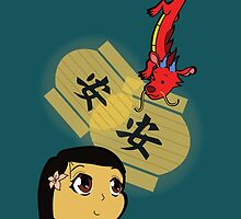 Chibi Mulan by Alissa Szeplaki