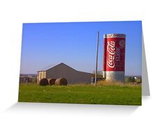Coca Cola Midwest Greeting Card