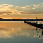 Sunset at Long Jetty by Tam  Locke