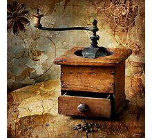 The old coffee grinder Photographic Print