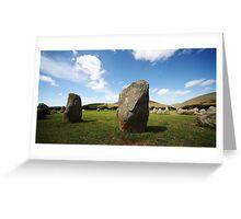 Castlerigg Circle Greeting Card