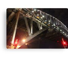 Sydney Harbour Bridge at Night Canvas Print