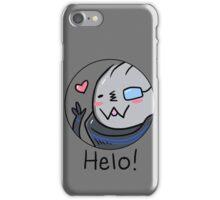 Garr-Bear Says Helo iPhone Case/Skin