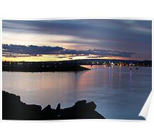 Lights Over Swansea Channel Poster