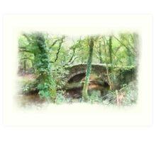 Goodameavy Dartmoor Devon Art Print