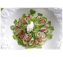 Carpaccio Bavaricus Vegetarian Poster