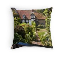 Old Bay Cottage Throw Pillow