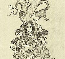 Gentle Alice by Octavio Velazquez