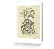 Gentle Alice Greeting Card