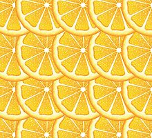 Orange Slices Background by AnnArtshock