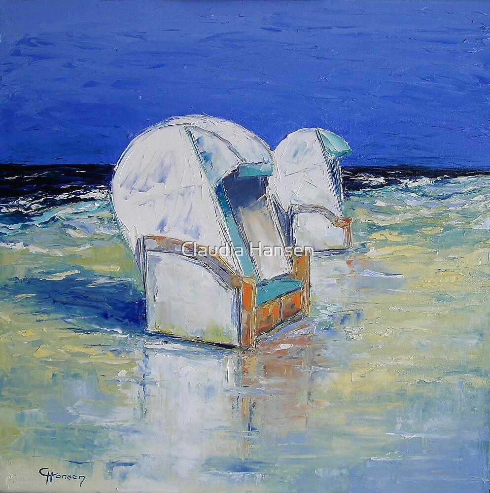 Beach Chairs by Claudia Hansen