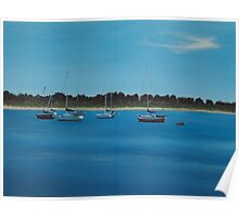 Tranquil waters 2 Poster