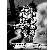 Future Trooper  Photographic Print