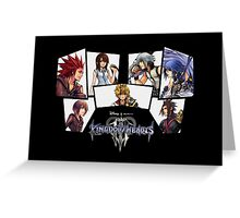 Kingdom Hearts Stuff!! Greeting Card