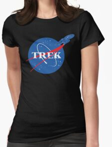 NASA Trek Womens Fitted T-Shirt