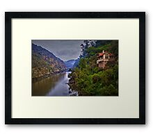 Cataract Gorge Framed Print