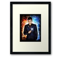 He's like fire and ice and rage. Framed Print